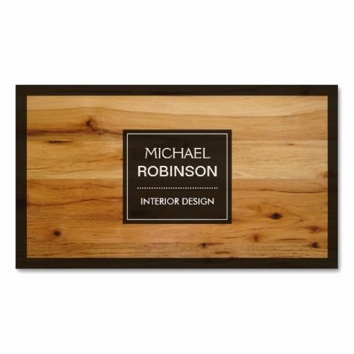 Wood Grain Business Cards Elegant Stylish Border Wood Grain Texture Business Card Templates