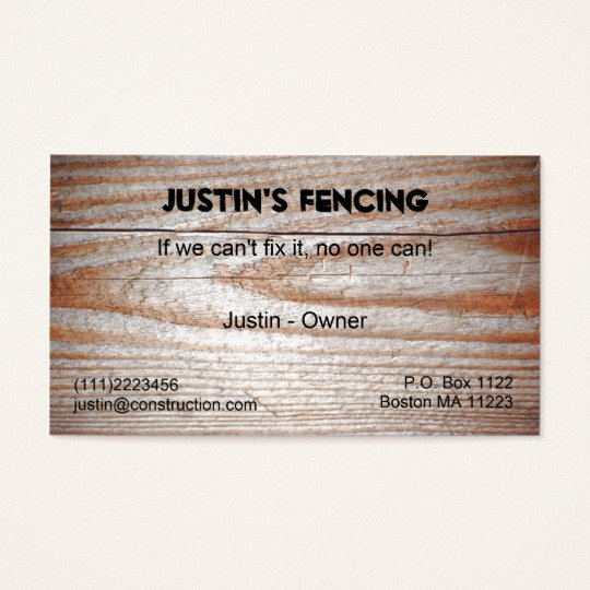 Wood Grain Business Cards Fresh Wood Grain Business Card