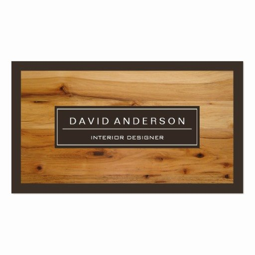 Wood Grain Business Cards Lovely Professional Modern Wood Grain Look Business Cards