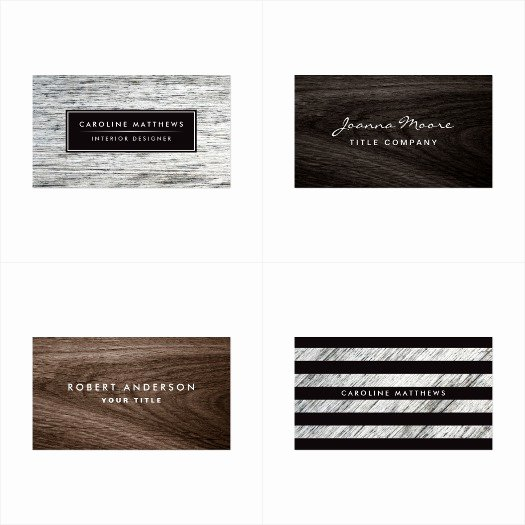 Wood Grain Business Cards Luxury Rustic Wood Modern Business Card More Than Invites