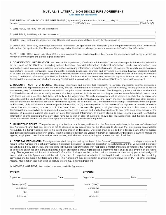 Word Employee Confidentiality Agreement Templates Awesome Pin On Business