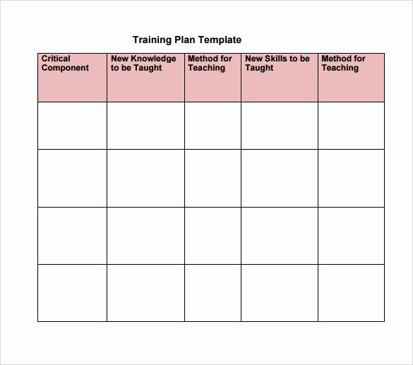 Workout Plan Template Excel Awesome Training Plan Template Excel Download – Planner Template Free