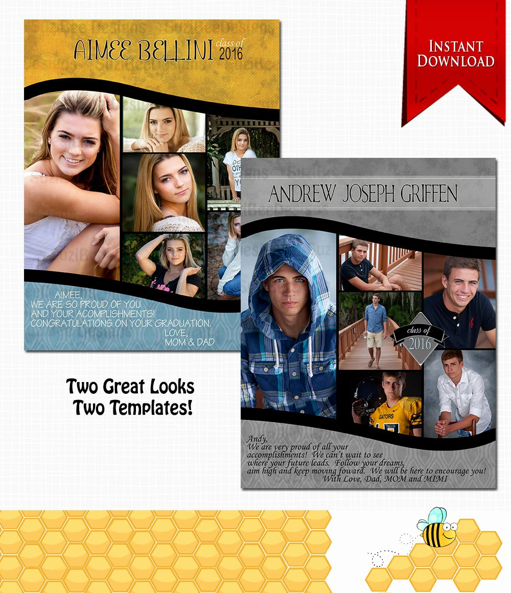 Yearbook order form Template Best Of Downloadable Yearbook Ad Template Photoshop Required