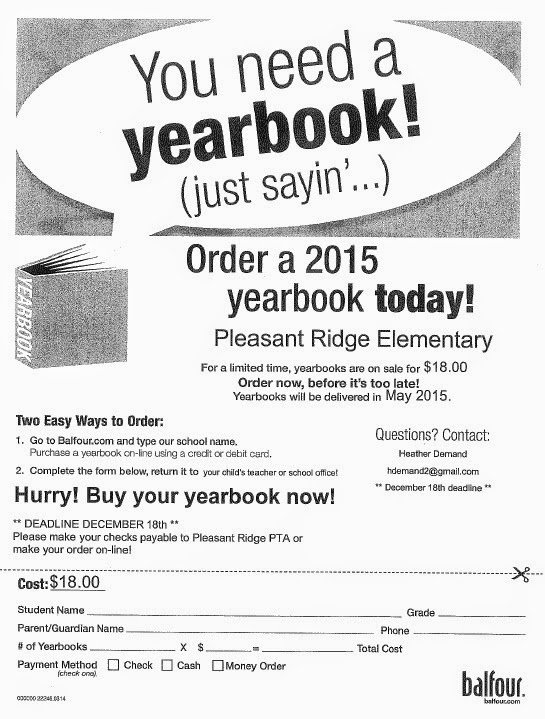 Yearbook order form Template Best Of Elementary Yearbook order form
