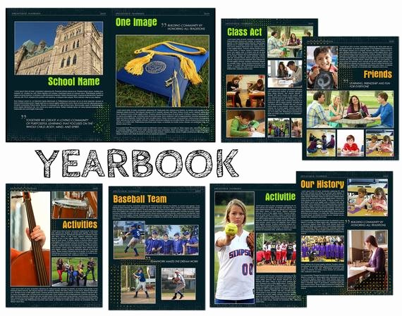 Yearbook order form Template Best Of Yearbook Custom Templates