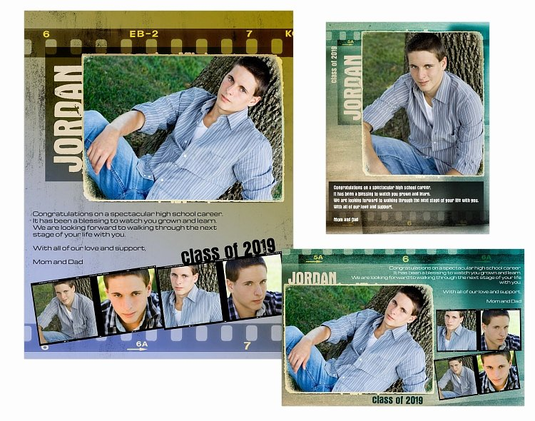 Yearbook order form Template Elegant Seniors Yearbook Ads Templates Jordan