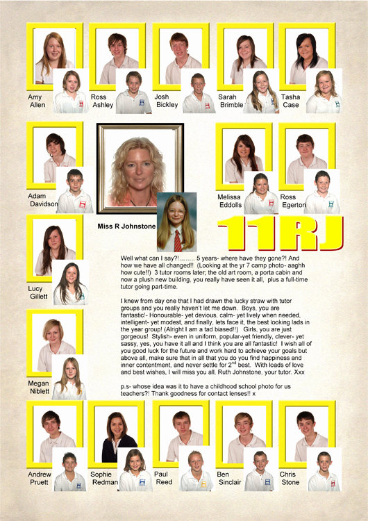 Yearbook order form Template Lovely Year 11 Yearbook Sample Pages