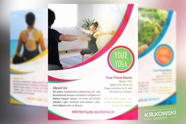 Yoga Flyer Template Free Beautiful 46 Superior Fitness Flyer Templates Psd Vector Eps Jpg