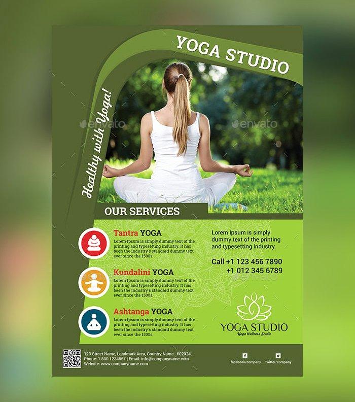 Yoga Flyer Template Free Best Of 23 Yoga Flyer Psd Templates Free & Premium Designyep