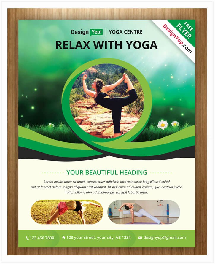 Yoga Flyer Template Free Fresh 10 Free Yoga Flyer Templates In Psd Ai Eps Tech Trainee