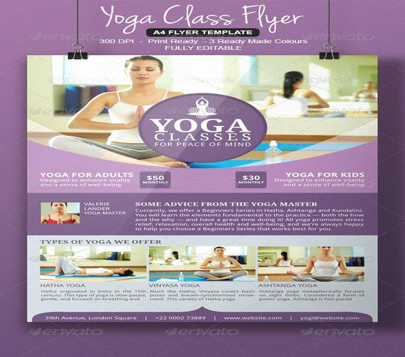 Yoga Flyer Template Free Fresh 20 Beautiful Yoga Flyer Templates