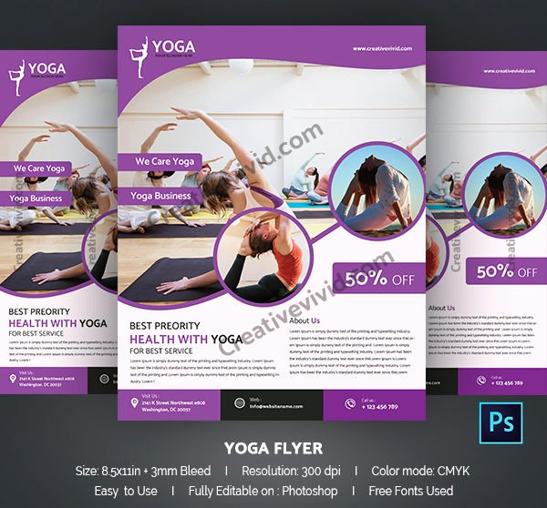 Yoga Flyer Template Free Luxury 29 Latest Yoga Flyer Templates Free & Premium Download