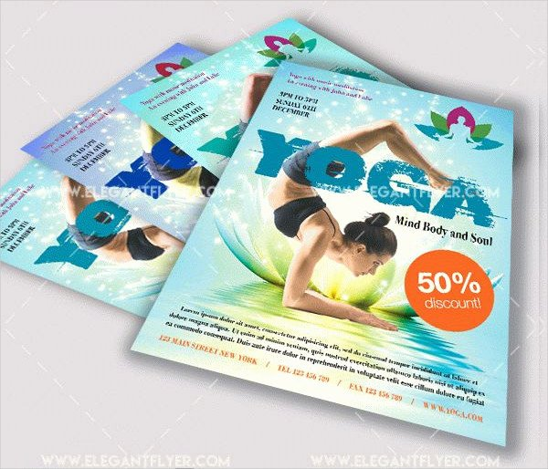 Yoga Flyer Template Free Unique 29 Latest Yoga Flyer Templates Free & Premium Download