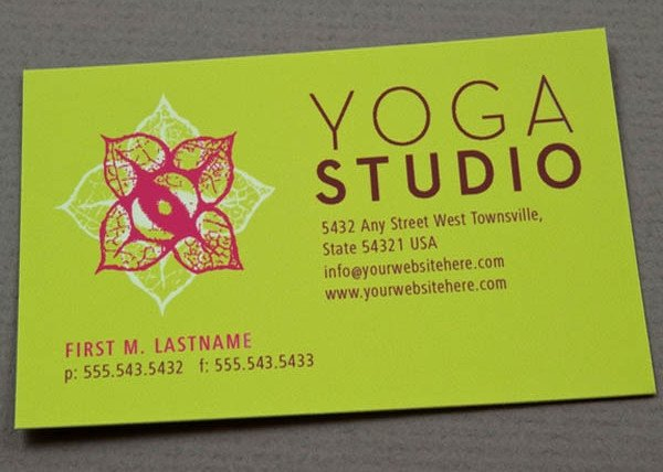 Yoga Instructor Business Card Inspirational 89 Business Card Templates Pages Indesign Psd Publisher