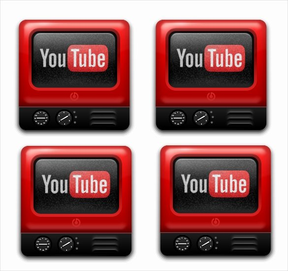 Youtube Channel Icon Template Luxury 41 Icons – Free Sample Example format Download