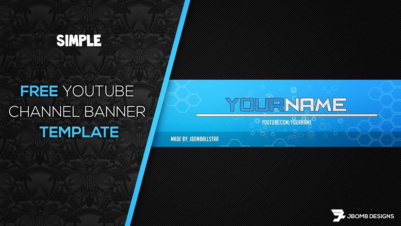 Youtube Profile Picture Template Photoshop Luxury [ Shop] Free Hd Youtube Channel Banner Template
