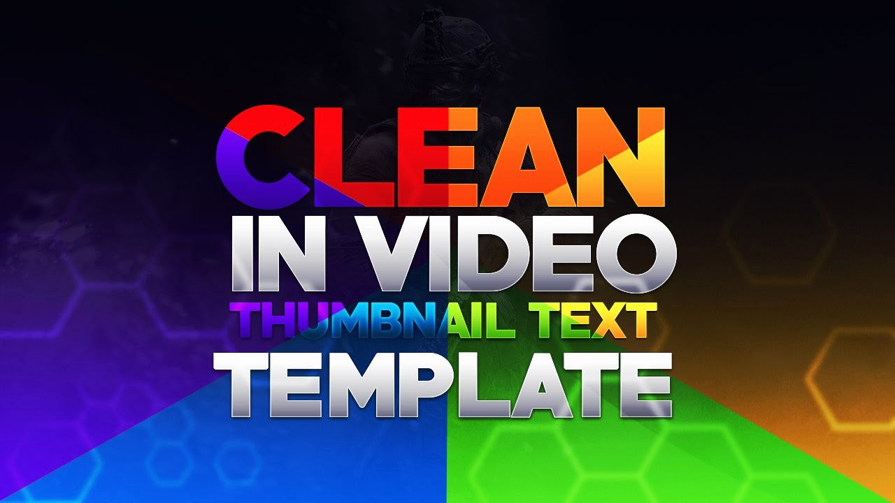 Youtube Thumbnail Template Photoshop Best Of Free Gfx Free Shop Template Pack Clean 2d Rainbow Pack Design