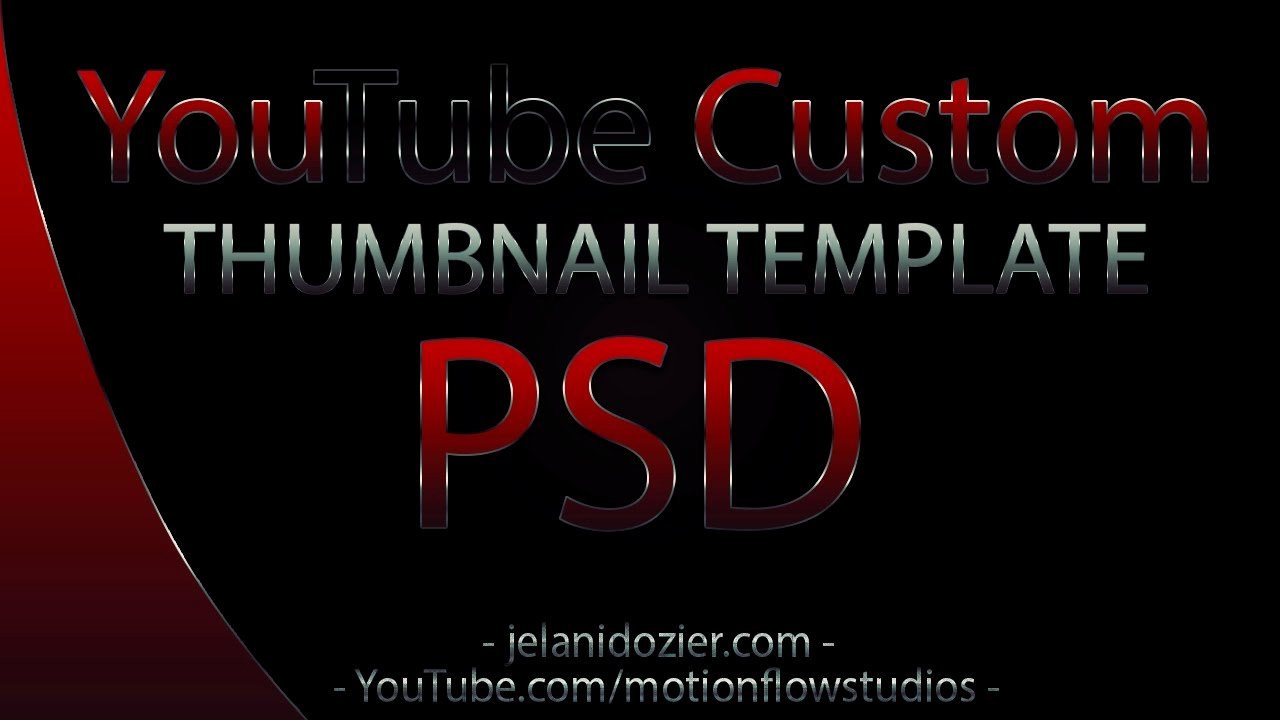Youtube Thumbnail Template Photoshop Fresh 2012 Custom Shop Psd Template
