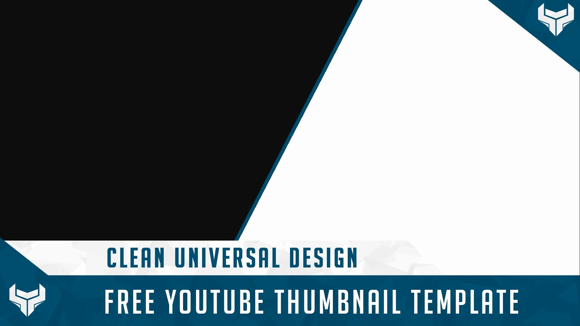 Youtube Thumbnail Template Photoshop New Youtube Template